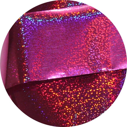 Фольга для литья и кракелюра Royal (22) малиновый голографический песок